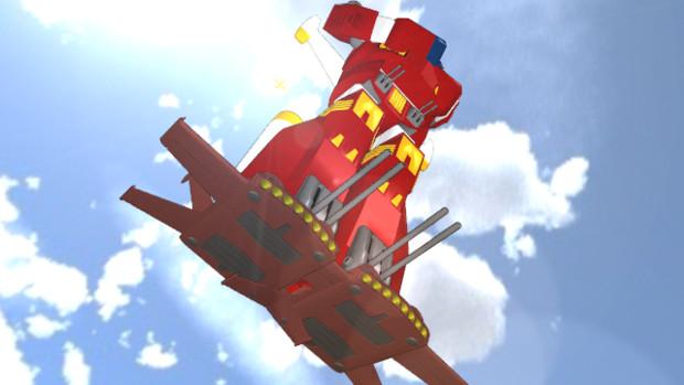 【MMD-OMF2】アイアン・ギアー空中を制す