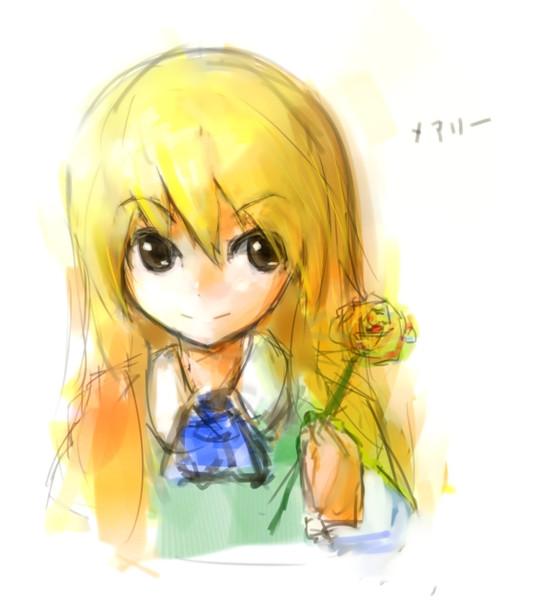 造花の黄色い薔薇