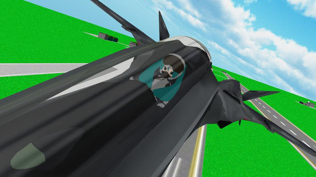 【MMD】 慣熟訓練飛行 【OMF2静画の部】