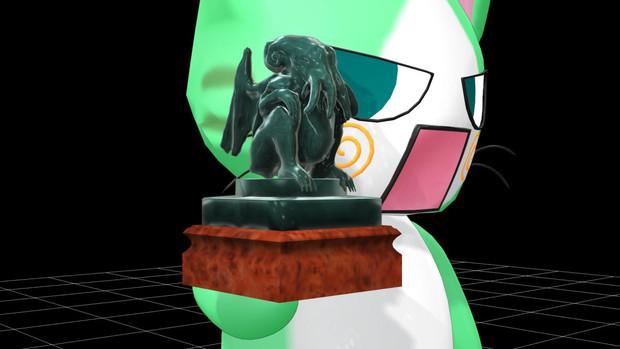 【OMF2参加】クトゥルフ御神体石像【アクセ】