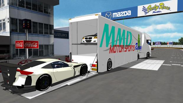 【MMD-OMF2】トランスポーター