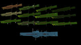 【MMD-OMF2】某銀英伝 同盟軍旗艦級モデル13種 配布