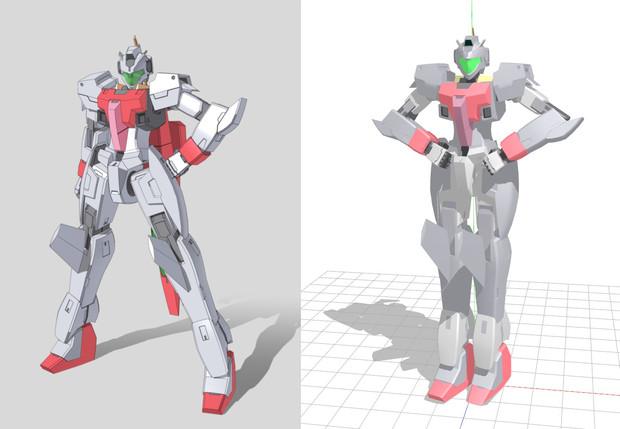 【MMD-OMF2】GNアーチャー