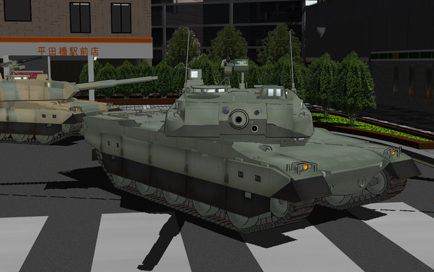 【MMD-OMF2】10式戦車