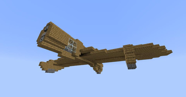 Minecraftでガンシップ作ってみた 01