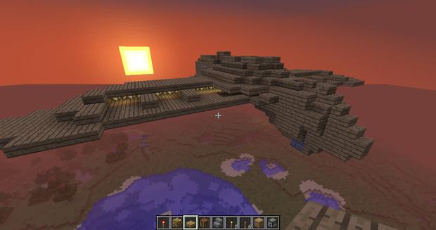 Minecraftでガンシップ作ってみた 03