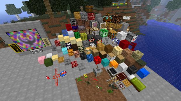 【Minecraft】東方テクスチャver.1.2.5