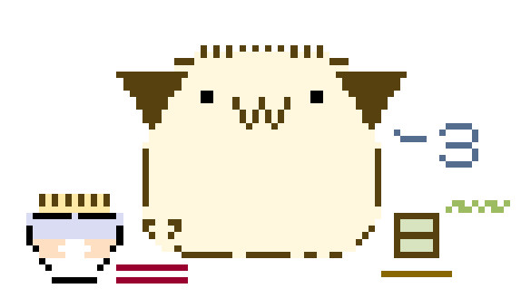 * 自作AA版ギヌ(ぽ+ビーグル)