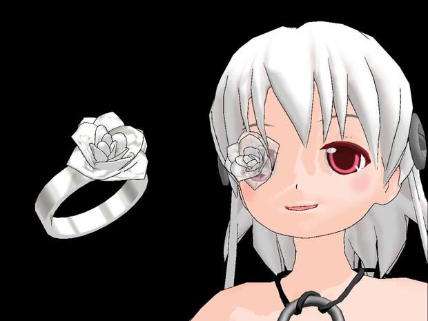 【MMD】薔薇の硝子細工と指輪