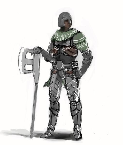 戦士(斧)