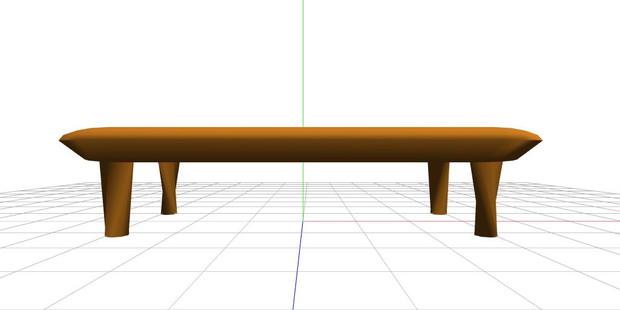 【MMDアクセサリ】テーブル