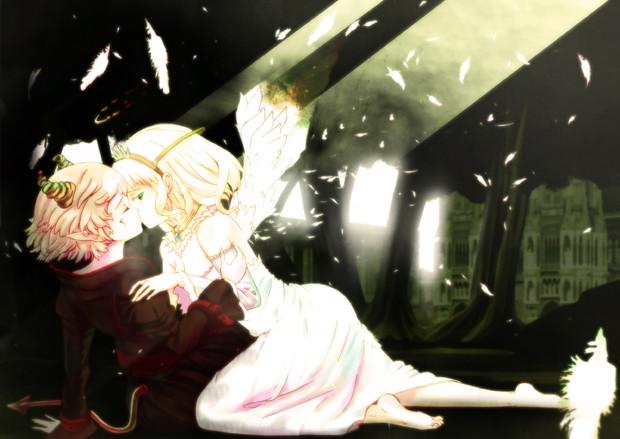 天使と悪魔の恋物語 たかしq さんのイラスト ニコニコ静画
