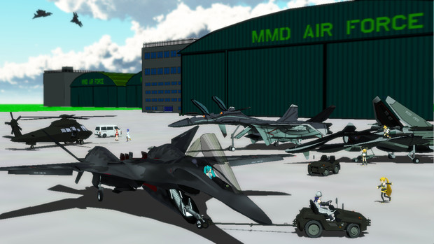 MMD空軍がスゴイ件