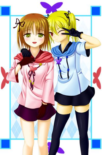 【らぶでゅえ!】アイナ&サイナ