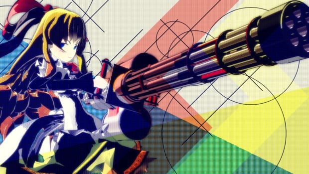 機関銃の上海人形