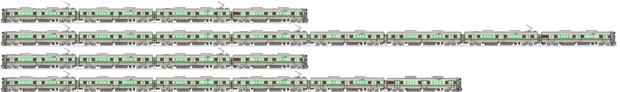 JR西225系0/6000番台 側面イラスト(改良版)