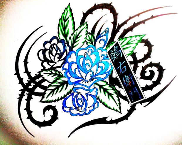 ニコ生にて 薔薇