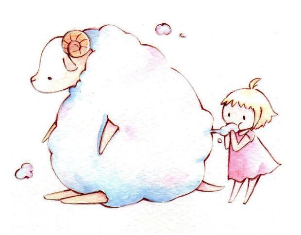 年賀状 年賀状 無料素材 羊 : Matome Naver
