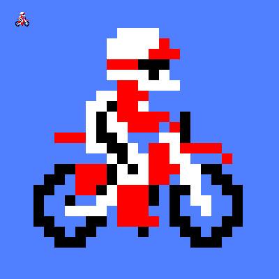 エキサイトバイク / ヨッシー さんのイラスト - ニコニコ静画 (イラスト)