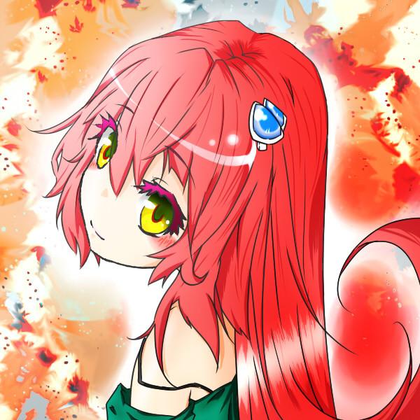 赤髪の女の子 まこと さんのイラスト ニコニコ静画 イラスト