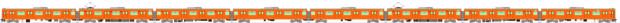 JR西201系30N更新車(大阪環状線) 側面イラスト