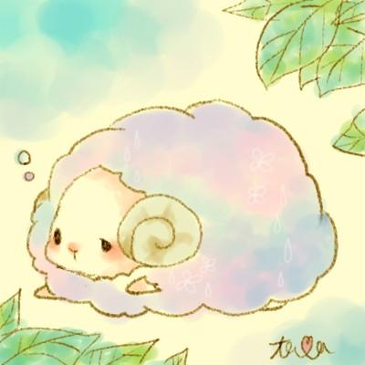 梅雨:ひつじ