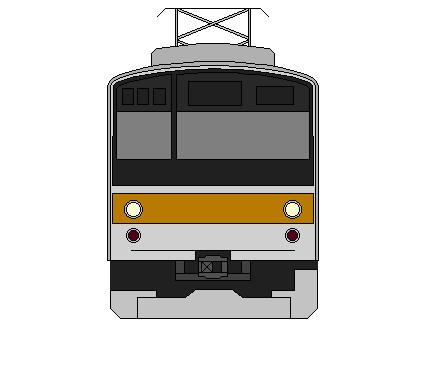 正面画 205系武蔵野線