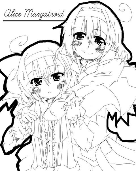 アリスとアリス・・・いや、アリス幼少期?いやいや、アリスのロリス?いやいやいやロリス?