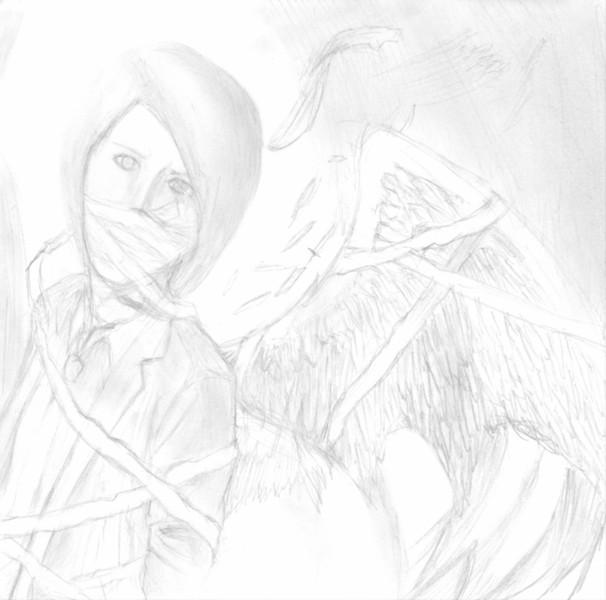 VALLIS-NERIAをシャーペン一本で描いてみた