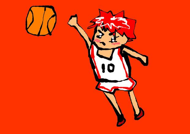 マウスで描いた黒子のバスケの火神大我 Kuroko's Basketball