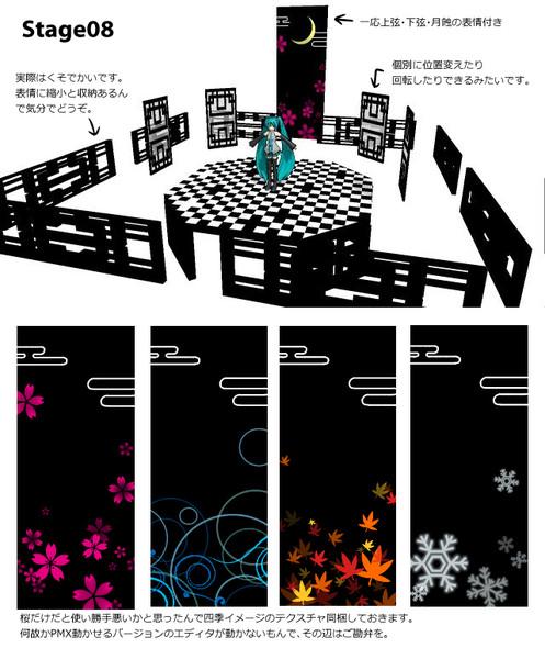 【更新しました7/17】和だか中華だか洋風だか迷子なステージ