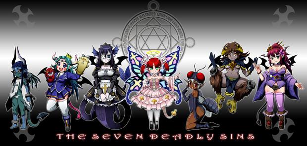 【悪魔娘シリーズ】七つの大罪魔王娘大集合
