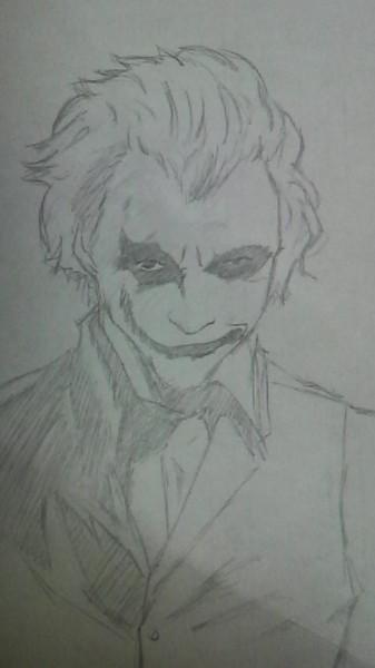 【やっつけ】joker 描いてみた