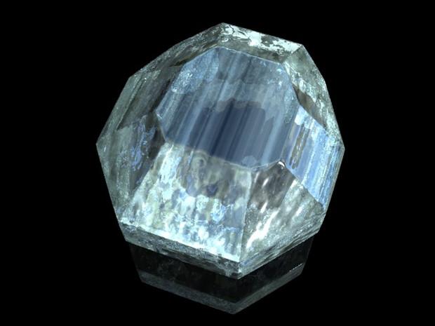 【Minecraft】ダイヤを描いてみた