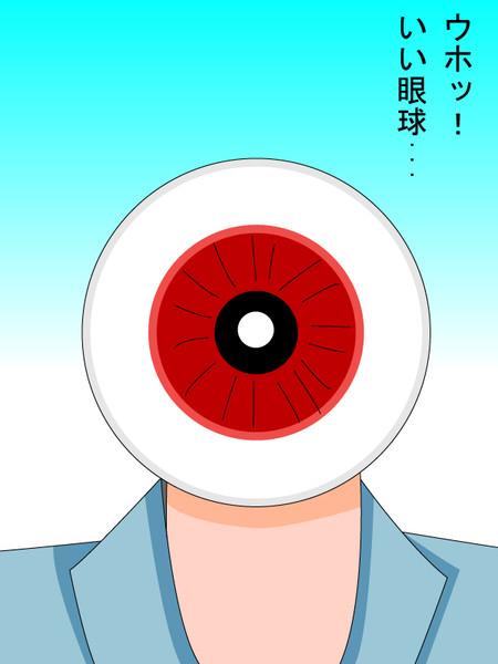 ウホッ・・いい眼球・・