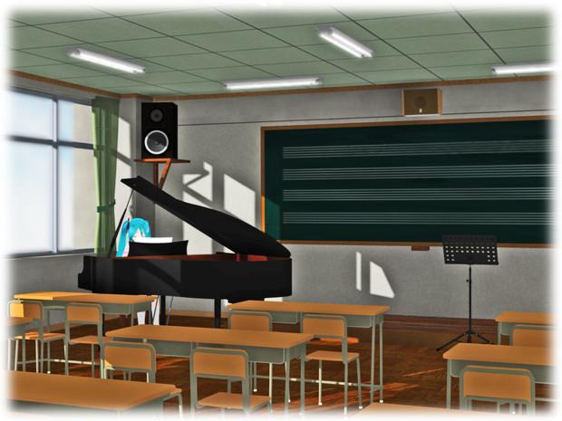 見おぼえのある音楽室