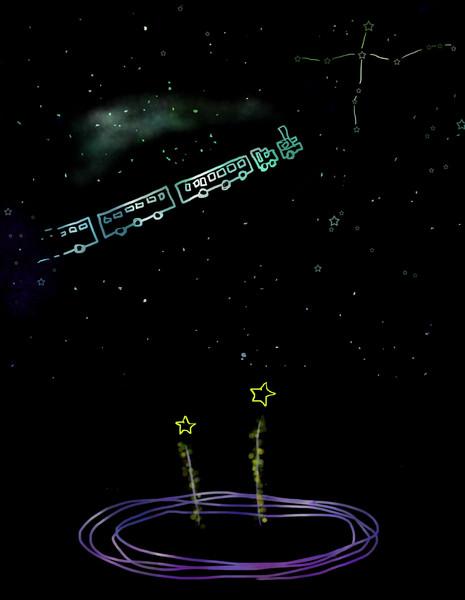 銀河鉄道の夜 Yuki さんのイラスト ニコニコ静画 イラスト