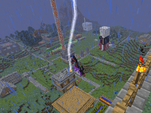 【Minecraft】AncientSword覚醒?