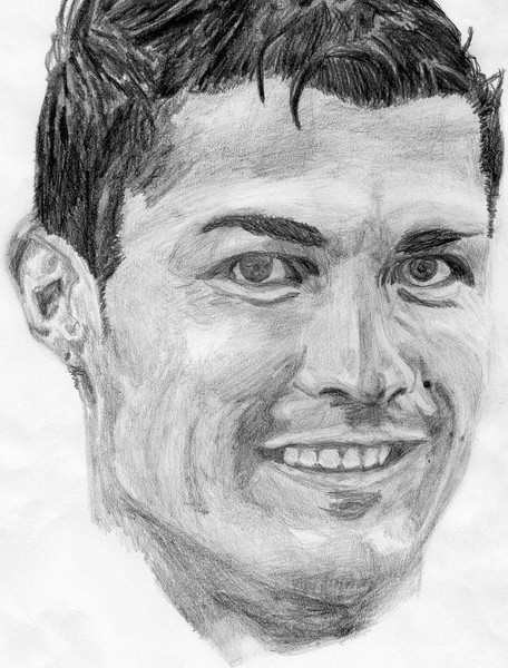 クリスティアーノ・ロナウド 描いてみた