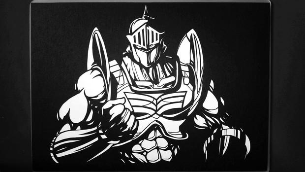 切り絵で、ロビンマスク