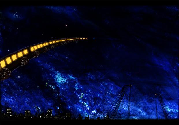 銀河鉄道の夜空