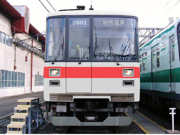 【架空】神戸市営2000系が上田電鉄に譲渡 上田2000系に
