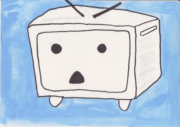 ニコニコテレビちゃん 描いてみた