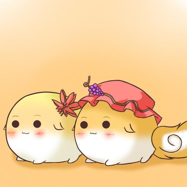 すくすく秋姉妹 Noiz さんのイラスト ニコニコ静画 イラスト
