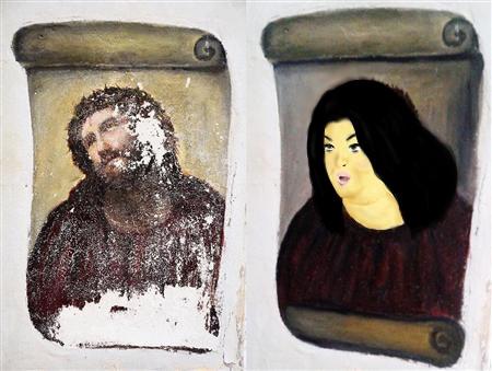 フレスコ画修復参加してみた