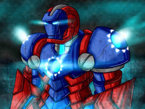 Iron Man - 青天白日型