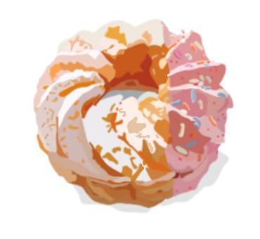 ピンクグレープフルーツフレンチ