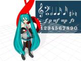 音楽記号(MMDアクセサリ)