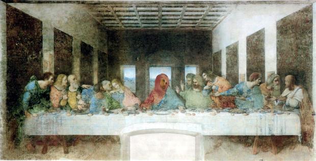フレスコの晩餐