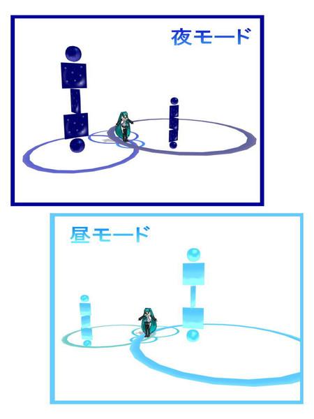 【MMDアクセサリ配布】リングステージ